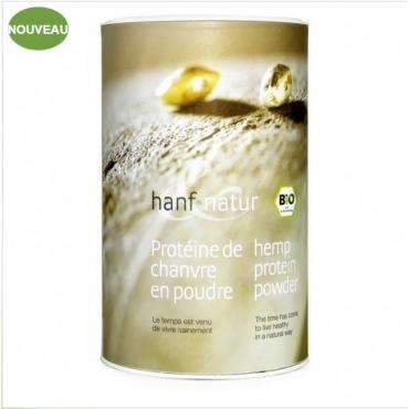 Protéines de Chanvre en poudre 450g
