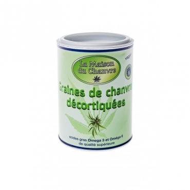 Graines de chanvre décortiquées 150g